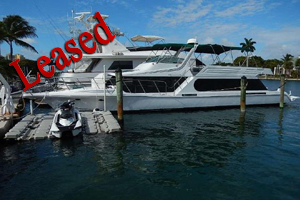1990 64' Bluewater Yachts Cruiser for sale, florida